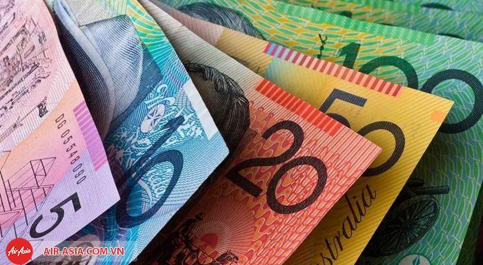 Đổi tiền Úc