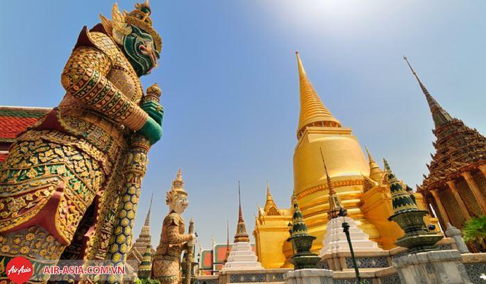 Đất nước chùa vàng Thái Lan
