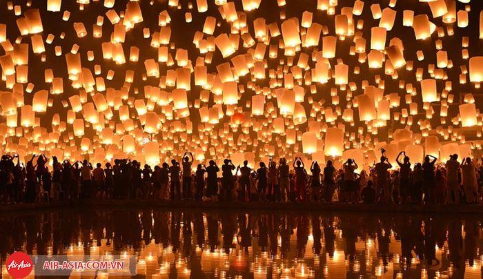 lễ hội Yi Peng