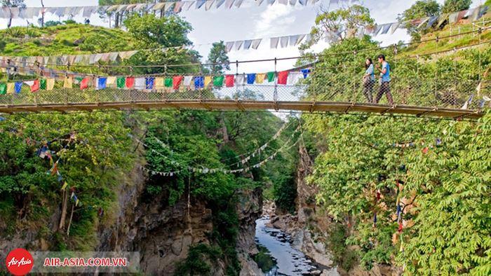 Khung cảnh trong lành ở Kathmandua khiến du khách nhớ mãi