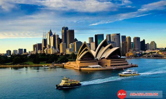 Check in tại Úc xinh đẹp