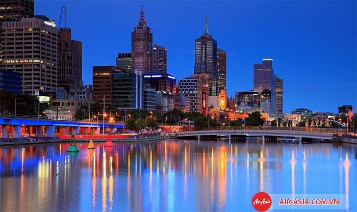Thành Phố Melbourne- Thành phố đang sống nhất
