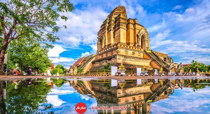 Những công trình kiến trúc nổi tiếng ở Chiang Mai