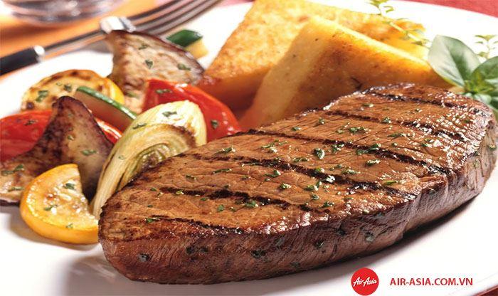 Thịt bò bít tết kiểu Úc