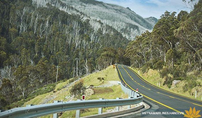 Con đường Kosciuszko Alpine Way đầy thách thức