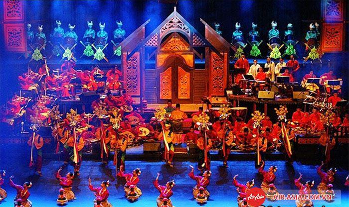 Lễ hội Hari Raya tổ chức để kết thúc tháng ăn chay