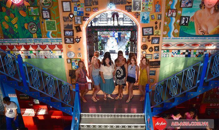 Motel Mexicola với phong cách trang trí từ thấp niên 60 của Mexico