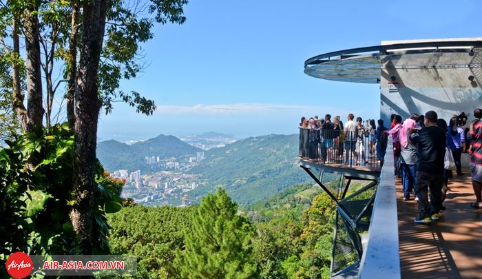 Ngắm cảnh ở Penang Hill