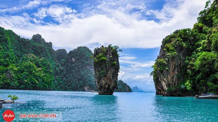 Vẻ đẹp ở vịnh Phang Nga