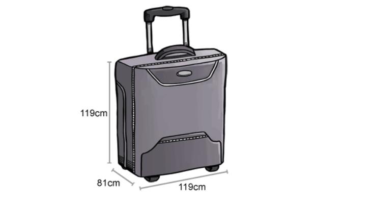 Kích thước hành lý ký gửi Air Asia