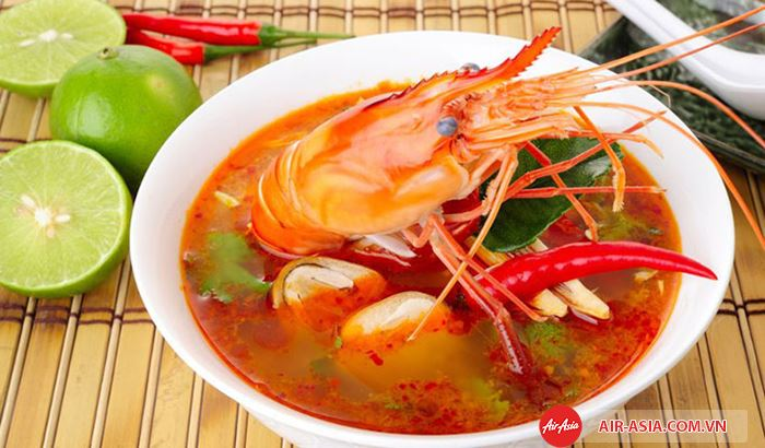 Ẩm thực Thái Lan đa dạng và phong phú