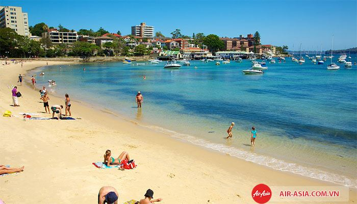 Bãi biển Sydney thích hợp đưa bé đến vào mùa hè