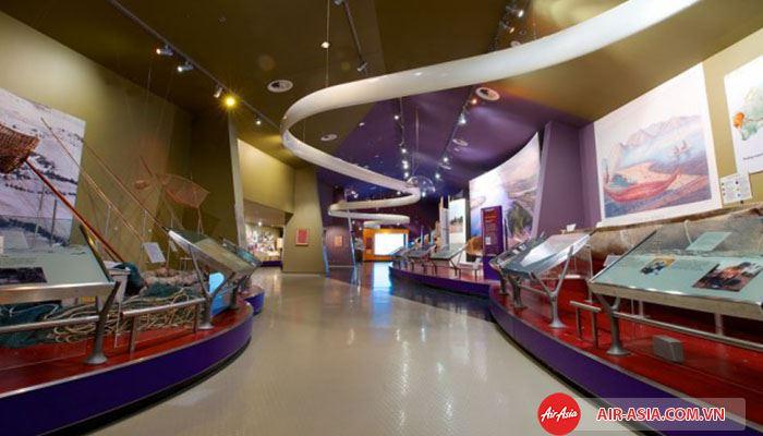Bảo tàng Úc cho bé khám phá