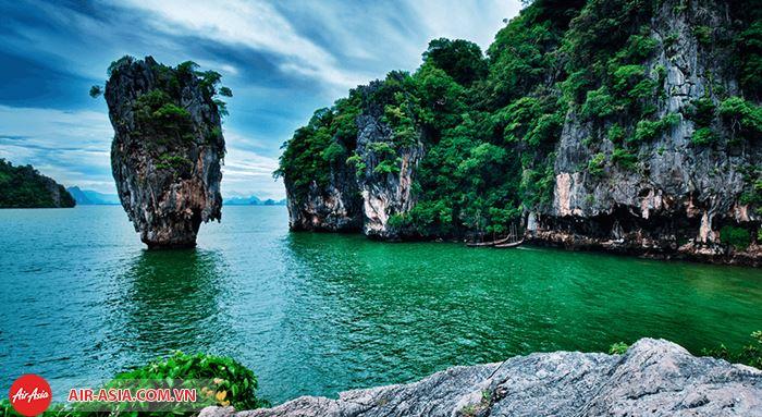 Ngây ngất vẻ đẹp đảo Khao Phing Kan