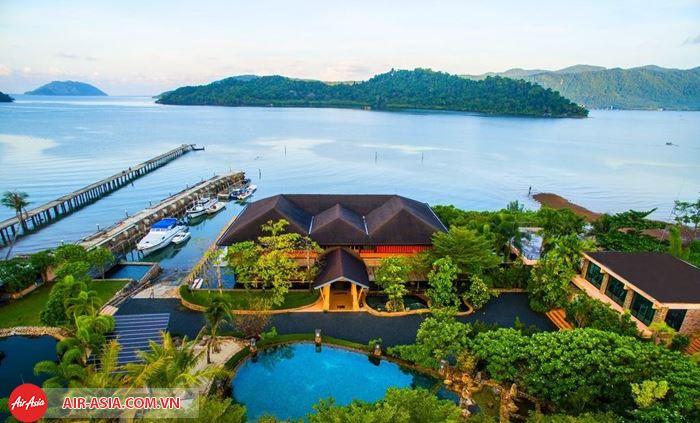 Toàn cảnh vẻ đẹp Đảo Koh Chang nhìn từ trên cao