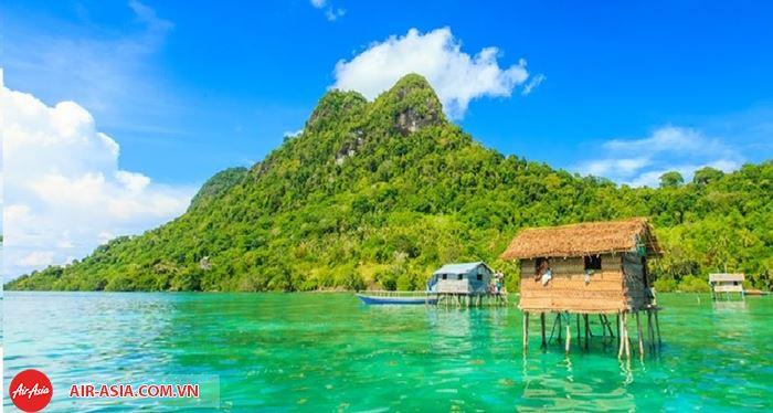 Ghé thăm đảo Borneo
