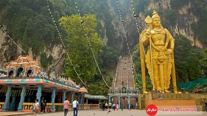 Động Batu_5 ngôi đền linh thiêng nhất tại Malaysia