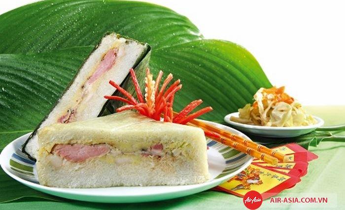 Bánh chưng ngày tết của Việt Nam