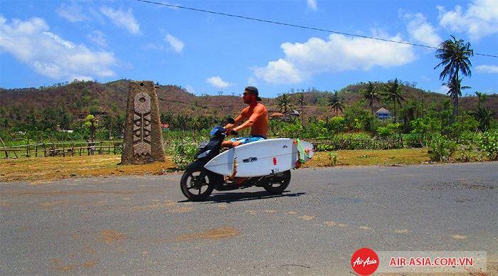 Nên sử dụng xe máy khi đi du lịch đảo Bali
