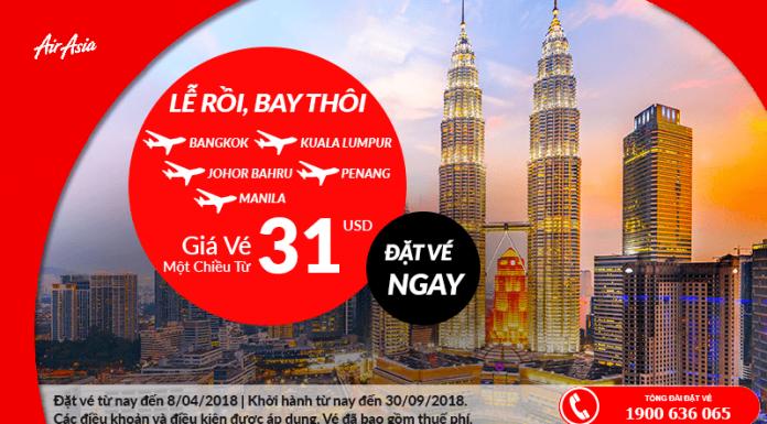 Khuyến mại Air Asia
