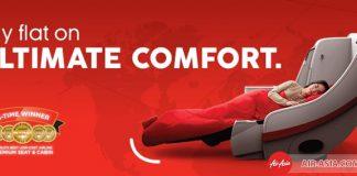 Hạng ghế Giường nằm cao cấp Air Asia