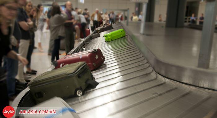 Tránh việc thất lạc hành lý khi đi máy bay