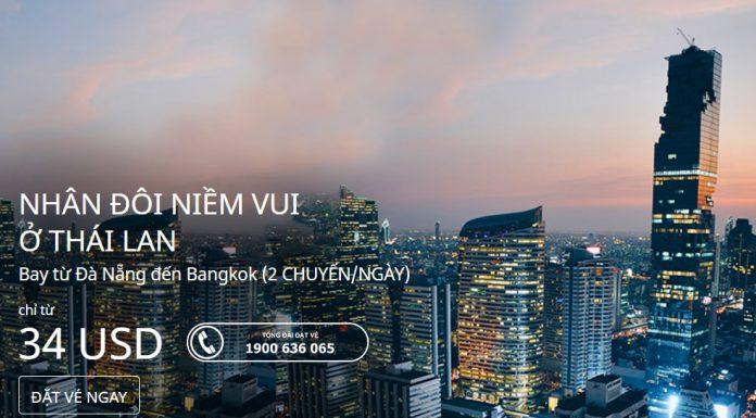 Air Asia khuyến mại vé máy bay đi Thái Lan giá rẻ